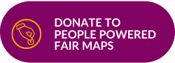 Donate to People Powered Fair Maps Button