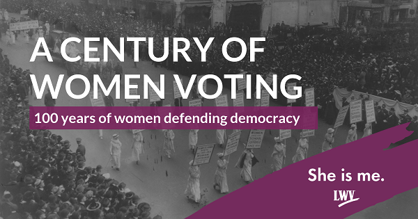 A Century of Women Voting
