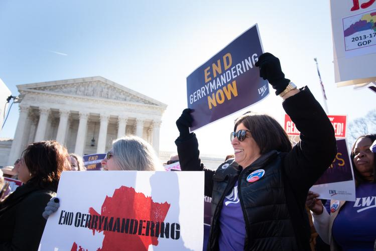 Rally to End Gerrymandering at the Supreme Court