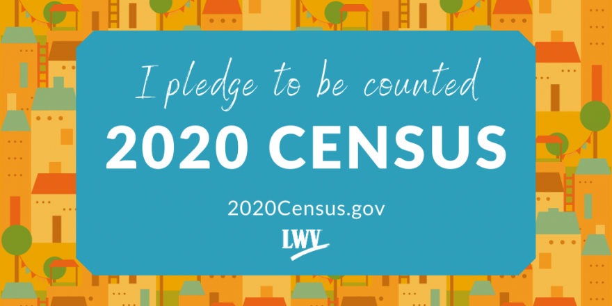 I pledge to be counted - 2020 Census - 2020Census.gov