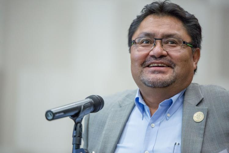 Leonard Gorman,  Executive Director of the Navajo Nation Human Rights Commission