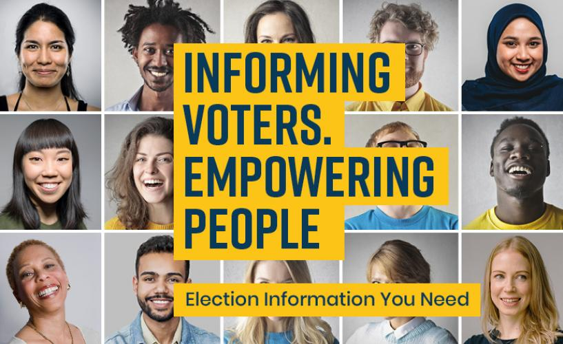 VOTE411 Informing Voters. Empowering People.